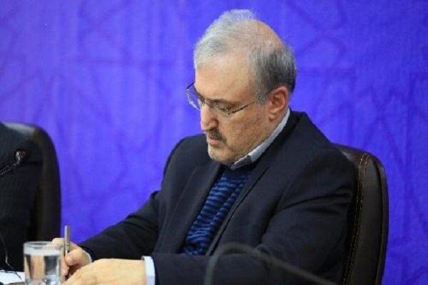 وزیر بهداشت در آستانه ماه محرم به ملت ایران نامه نوشت