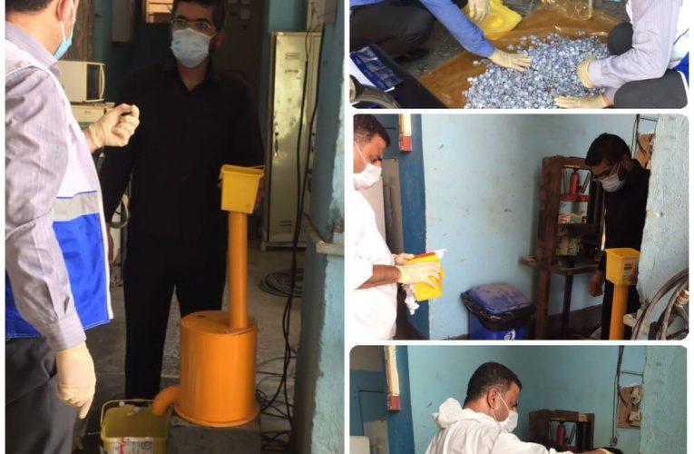 امحای بهداشتی ۹۱۹۶۹ ویال واکسن کووید ۱۹ در جنوب غرب خوزستان