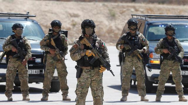اردن تلاش تروریست ها برای نفوذ از سوریه را ناکام گذاشت