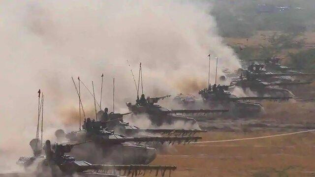 تحرکات نظامی چین و هند در منطقه مرزی مورد مناقشه
