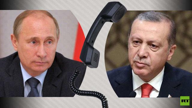 سوریه و لیبی، موضوع گفتوگوی تلفنی اردوغان و پوتین