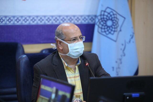 زالی: تمدید محدودیتهای کرونایی تهران تا پایان مرداد