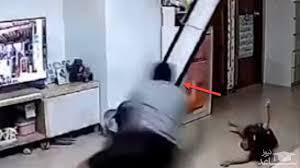 واکنش سریع پدر، جان کودک را نجات داد / ویدئو