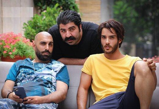 چهرههای دیدنی امیر جعفری، بهنام بانی و دیگر بازیگران «گشت ارشاد ۳» / عکس