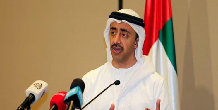 وزیر خارجه امارات برای امضای توافق با اسرائیل وارد آمریکا شد