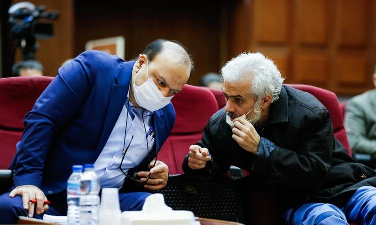 تصاویری از نخستین جلسه محاکمه حسن رعیت