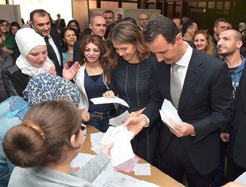 بشار اسد برای انتخابات ریاست جمهوری اعلام نامزدی کرد