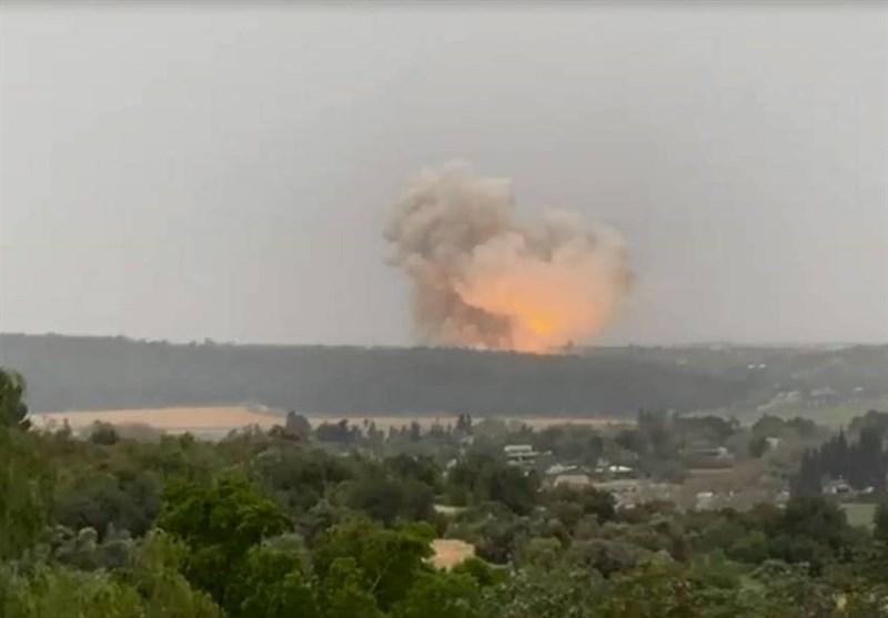 انفجار مهیب در صنایع موشکی رژیم صهیونیستی؛ پاسخی به حادثه نطنز