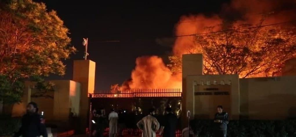 وقوع انفجاری مرگبار در هتل مجلل شهر کویته