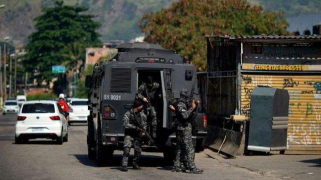 تیراندازی مرگبار در برزیل / ۲۵ نفر از جمله یک افسر پلیس کشته شدند