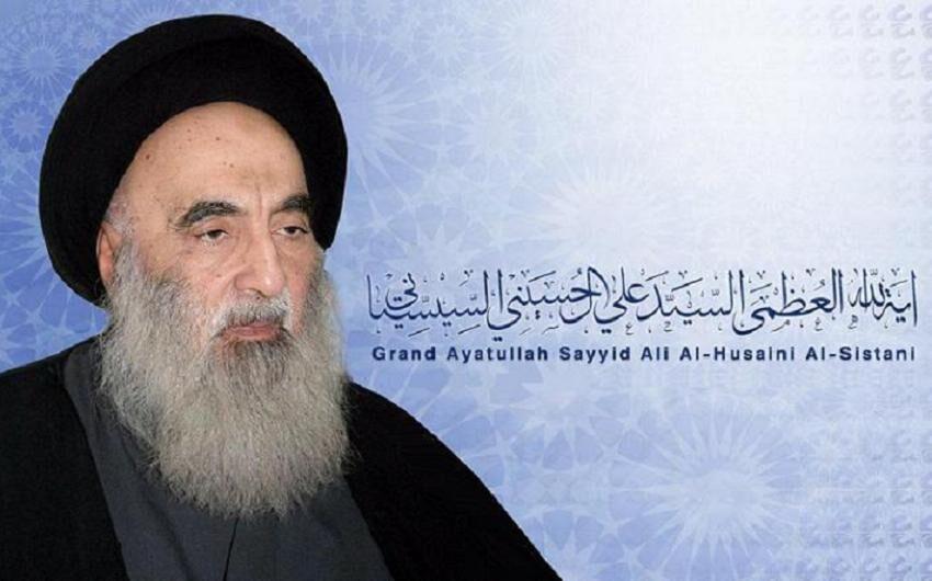 آیت الله سیستانی: در عراق و مناطق مجاور جمعه عید است
